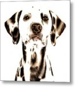 Fire Fighter's Best Friend Metal Print