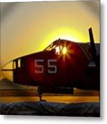 Fire Fighting Aircraft Metal Print