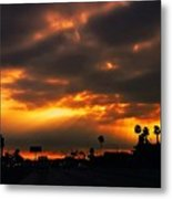 Fire From The North Metal Print