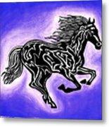 Fire Horse 2 Metal Print