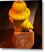 Humor At The Hydrant, Bray, Ireland Metal Print
