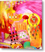 Fire In My Heart Metal Print