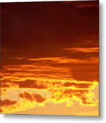 Fire In The Sky 3 Metal Print