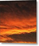 Fire In The Sky Two Metal Print