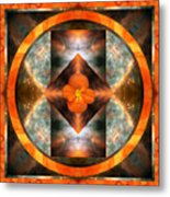 Fire Light Metal Print by Bell And Todd