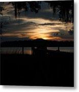 Fire Light Sunset Metal Print