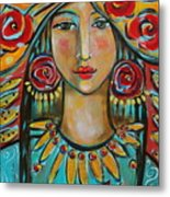 Fire Of The Spirit Metal Print