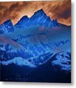 Fire On The Mountain Metal Print