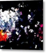 Fire Paper And Wind Metal Print