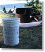 Fire Prevention - Vanvouver Island - Ca Metal Print
