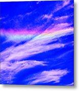 Fire Rainbow Metal Print