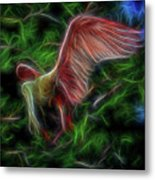Fire Spirit 2 Metal Print