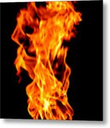 Fire The 3rd Element Michigan Metal Print