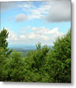 Fire Tower View - Pipestem State Park Metal Print