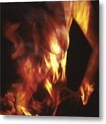 Fire Two Metal Print by Arla Patch