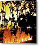 Fire Water Metal Print