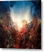 Fire Water Metal Print by Shirley McMahon