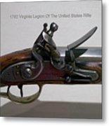 Firearms 1792 Virginia Legion Of The United States Rifle Metal Print