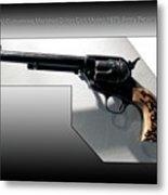 Firearms Tv Gunsmoke Marshall Dillon Colt Model 1873 Army Revolver Metal Print