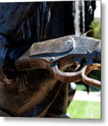 Firearms William Cody Statue Cody Wyoming Metal Print