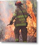 Firefighter 967 Metal Print