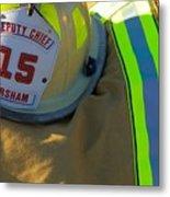 Firefighter Still Life Metal Print