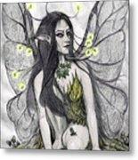Firefly Faery Metal Print