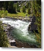 Firehole Canyon 2 Metal Print