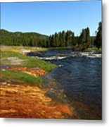 Firehole River Colors Metal Print