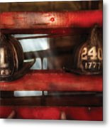Fireman - A Salute To The Firefighter Metal Print