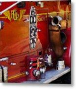 Fireman - Engine No 2  Metal Print