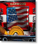 Fireman - I'll Put Your Fire Out Metal Print by Mike Savad