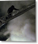 Fireman Washington Dc Metal Print