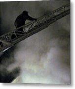 Fireman Washington Dc Metal Print