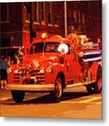 Fireman's Parade No. 3 Metal Print