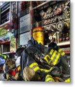 Firemen Always Ready For Duty - Fire Station - Union New Jersey Metal Print