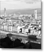 Firenze Metal Print by Alan Todd