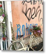 Firenze Bicycle Metal Print