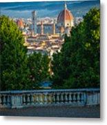 Firenze Vista Metal Print