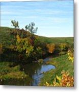 Firesteel Creek Autumn Metal Print
