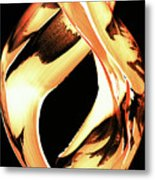 Firewater 1 - Buy Orange Fire Art Prints Metal Print