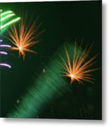 Firework Abstract Metal Print