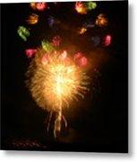 Fireworks-2 Metal Print