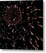 Fireworks 3 Metal Print