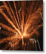 Fireworks A Different Perspective Seven Metal Print