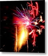 Fireworks Abstract #8 Metal Print