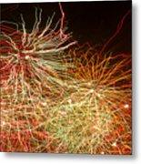 Fireworks Abstract IIi Metal Print