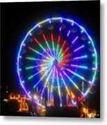 Fireworks At The Fair Metal Print