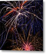 Fireworks Celebration  Metal Print