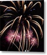 Fireworks Festivities Metal Print